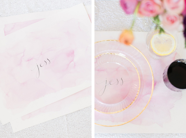 Wedding Stationery Inspiration: Pastels for Spring / Oh So Beautiful Paper