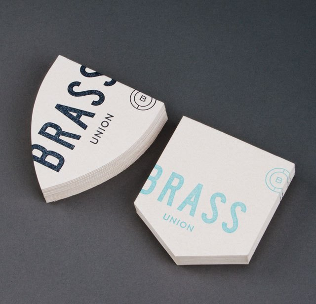 Finding the Paper: Brass Union Business Stationery, Business Cards, and Menus / Parse & Parcel for Oh So Beautiful Paper