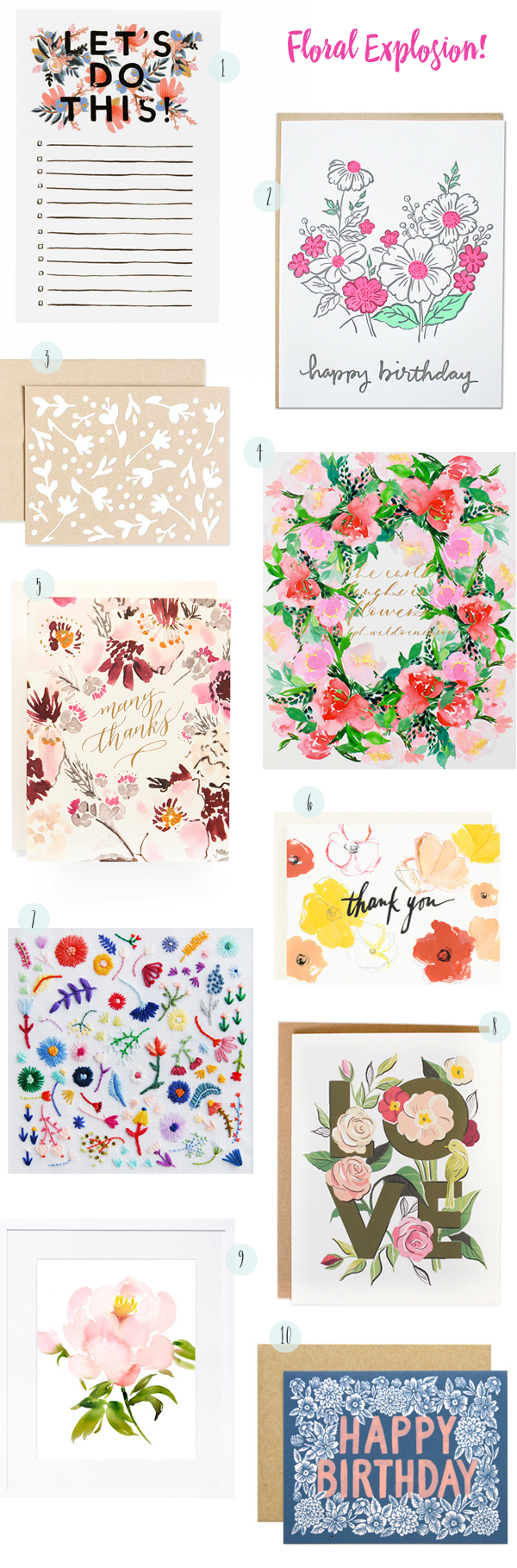 Quick Pick: Floral Explosion! / Oh So Beautiful Paper