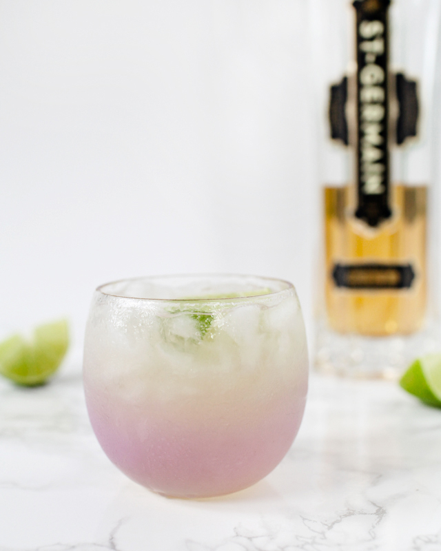 St-Germain Margarita Cocktail Recipe / Oh So Beautiful Paper