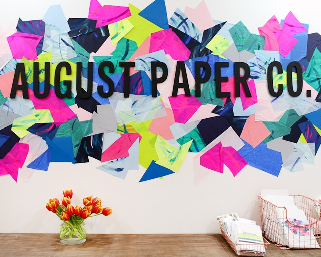 The 2016 National Stationery Show: August Paper Co. / Oh So Beautiful Paper