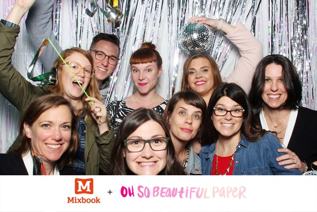 Paper Party 2016 Smilebooth Photos! / Mixbook + Oh So Beautiful Paper