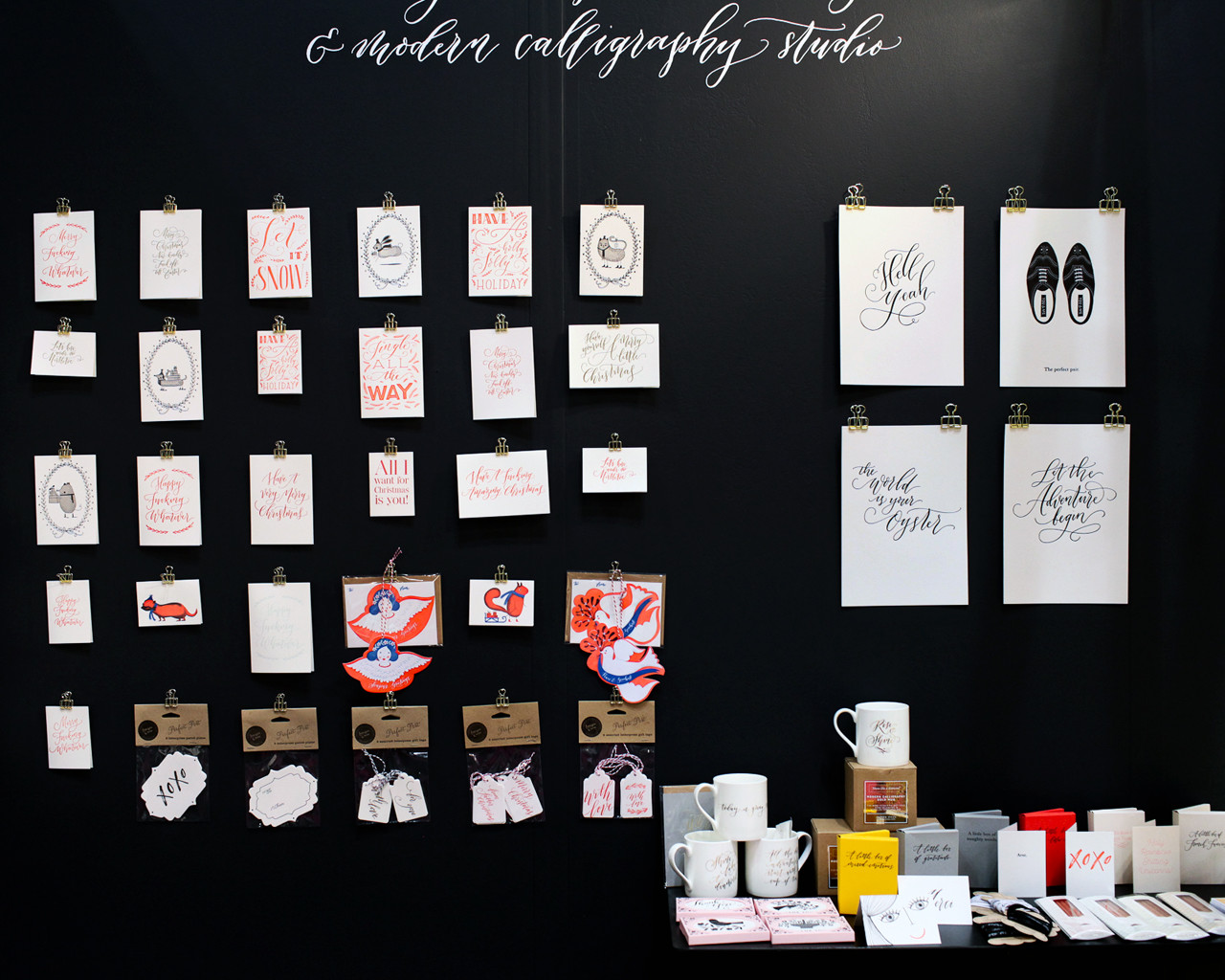NSS 2016 – Calligraphy and Hand Lettering: Imogen Owen / Oh So Beautiful Paper