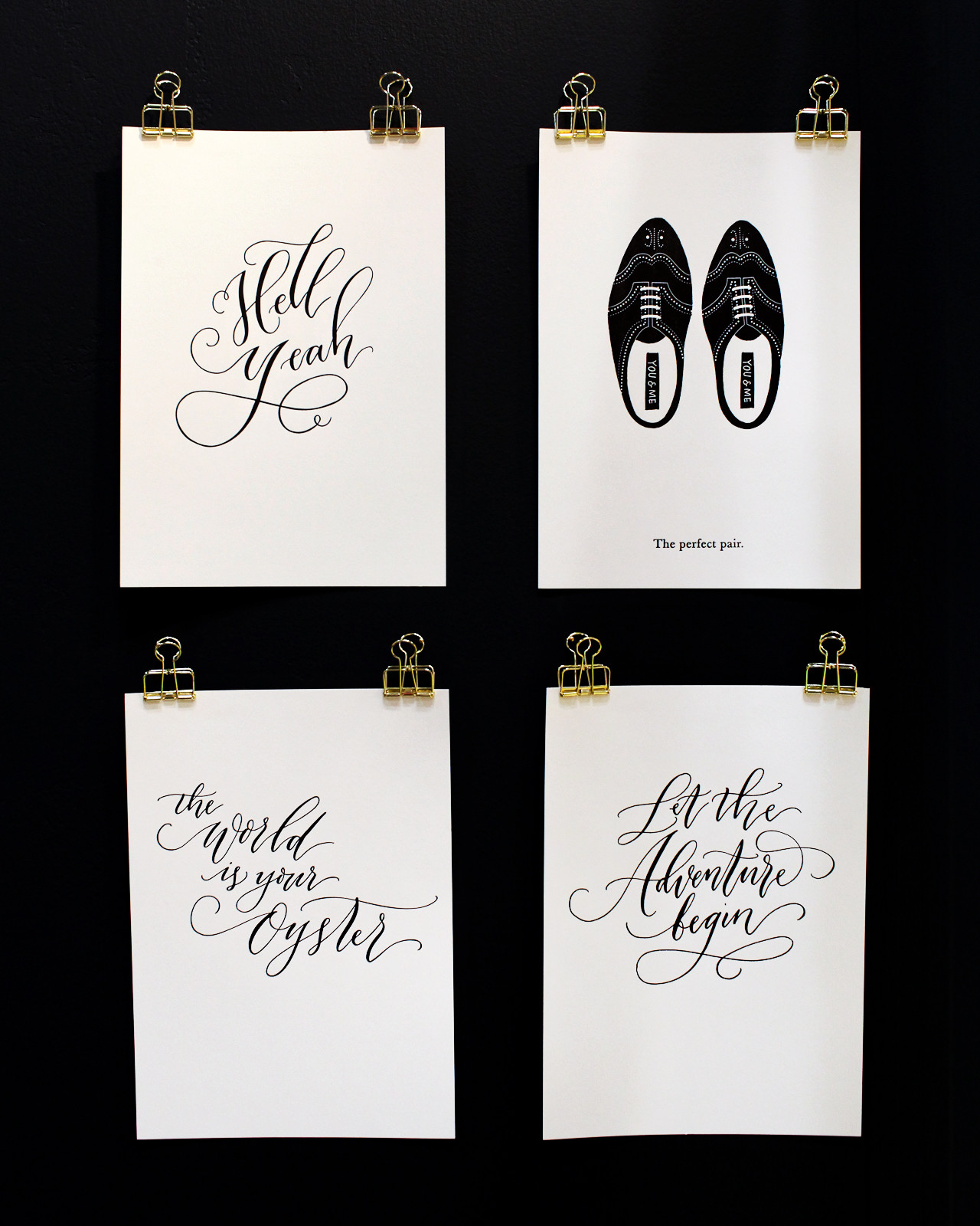 NSS 2016 –Calligraphy and Hand Lettering: Imogen Owen / Oh So Beautiful Paper