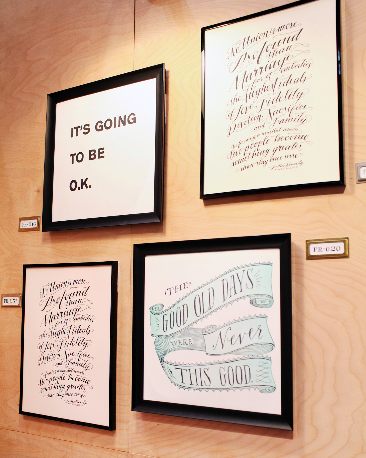 NSS 2016 –Calligraphy and Hand Lettering: Ladyfingers Letterpress / Oh So Beautiful Paper