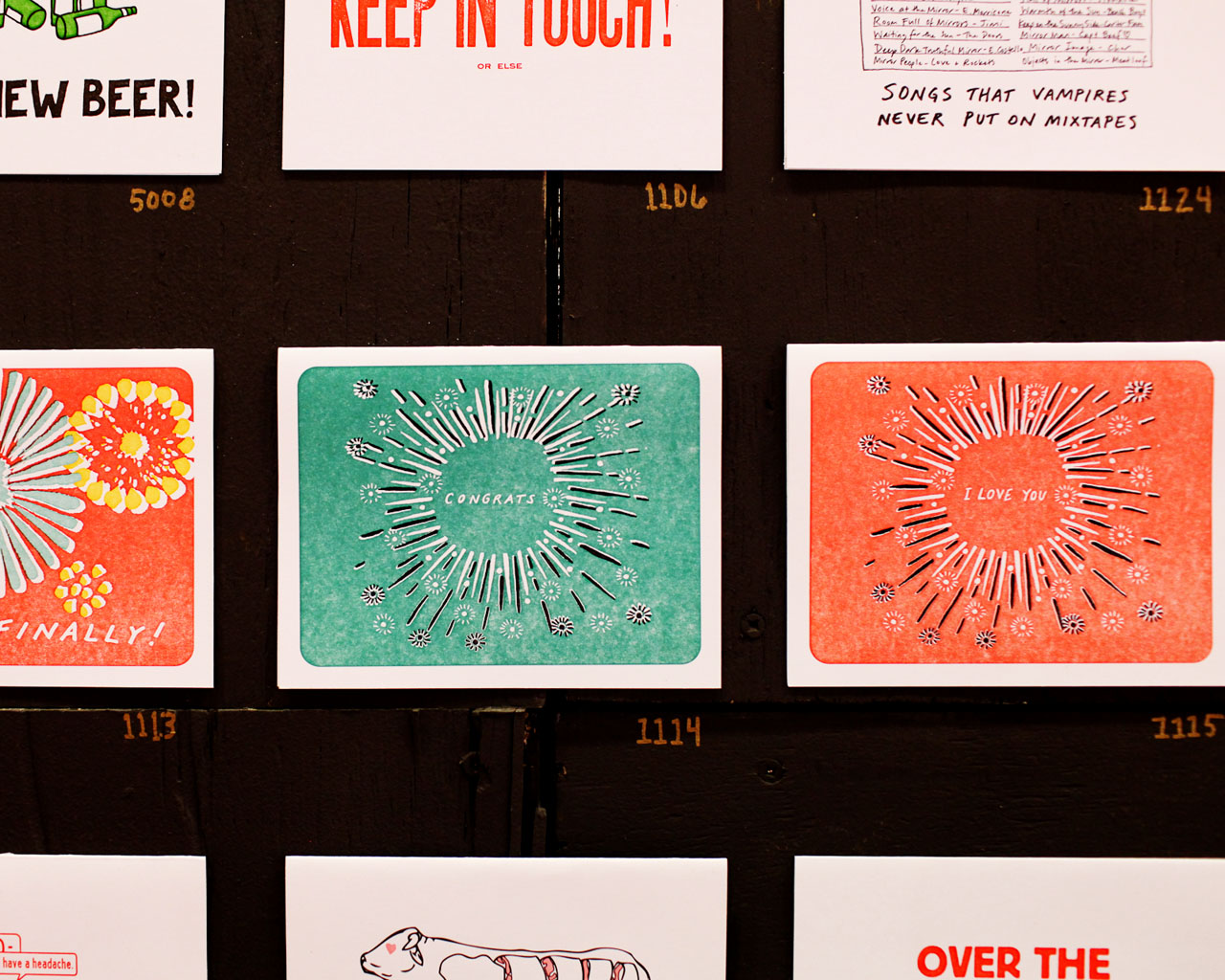 NSS 2016: Power and Light Press / Oh So Beautiful Paper