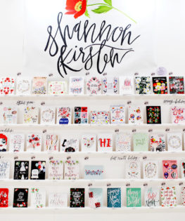 NSS 2016 – Calligraphy and Hand Lettering: Shannon Kirsten / Oh So Beautiful Paper