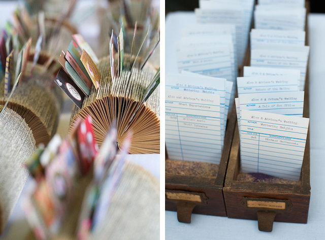 Library Inspired Wedding Stationery / Oh So Beautiful Paper