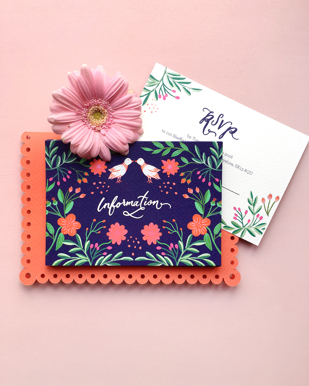 colorful mexican feteinspired wedding invitations, Wedding invitations