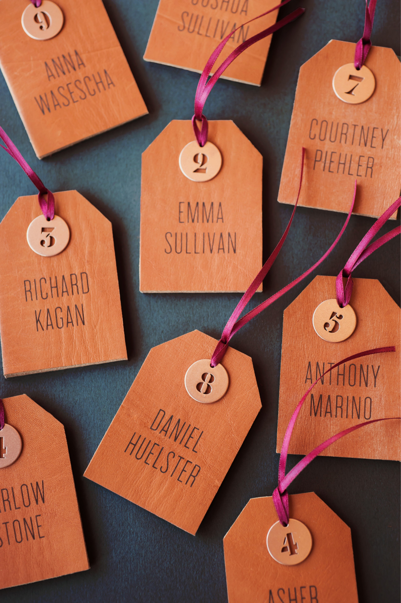 Copper and Leather Wedding Invitation Inspiration by Coral Pheasant / Photo: Charlotte Jenks Lewis / Oh So Beautiful Paper