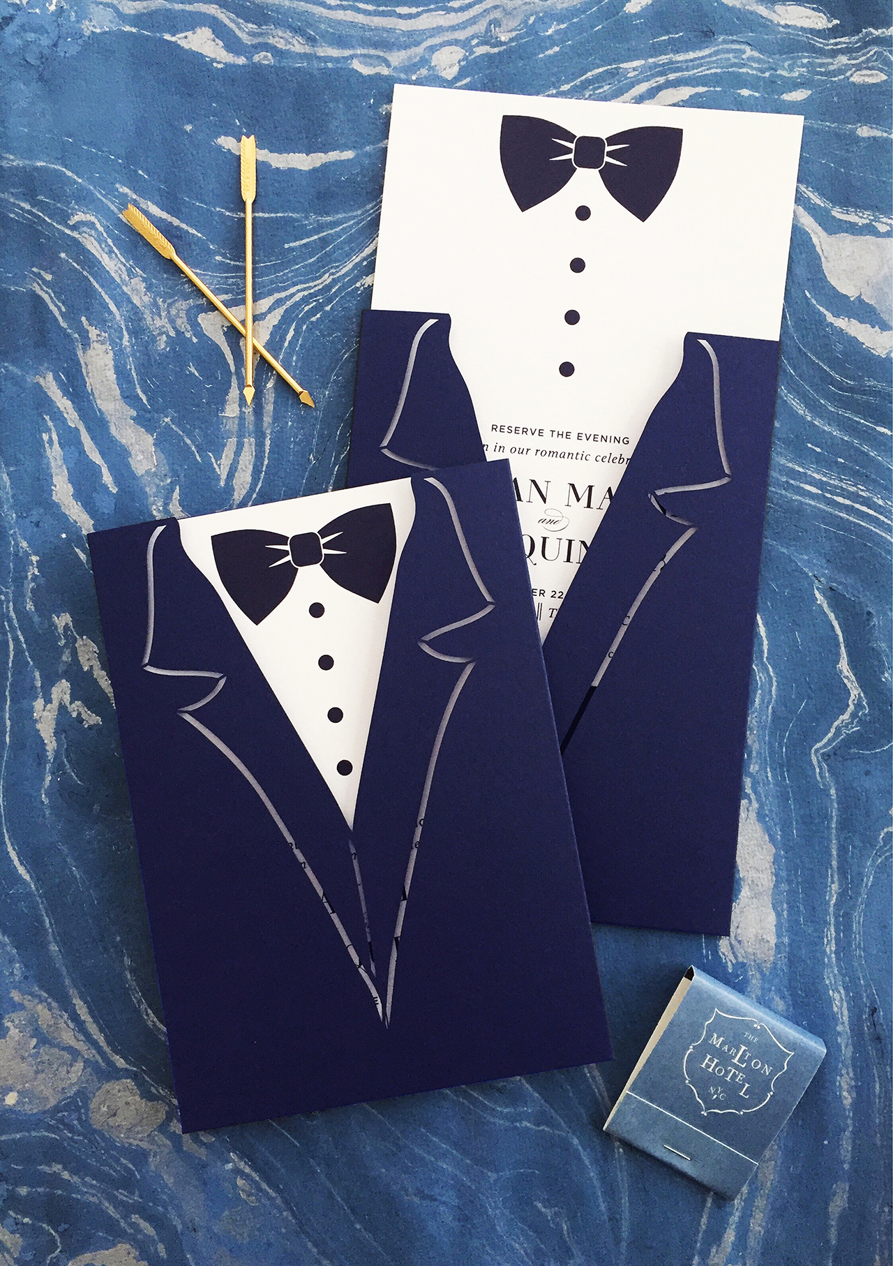coral_pheasant_save_the_date_1_navy_laser_cut_tuxedo