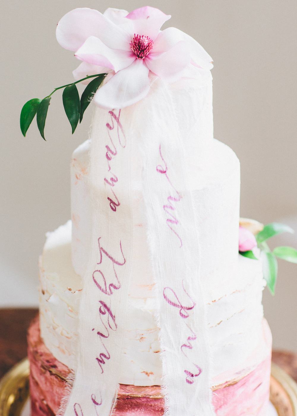 Calligraphy Inspiration: Vita Popov Studios / Photo Credit: As Ever Photography