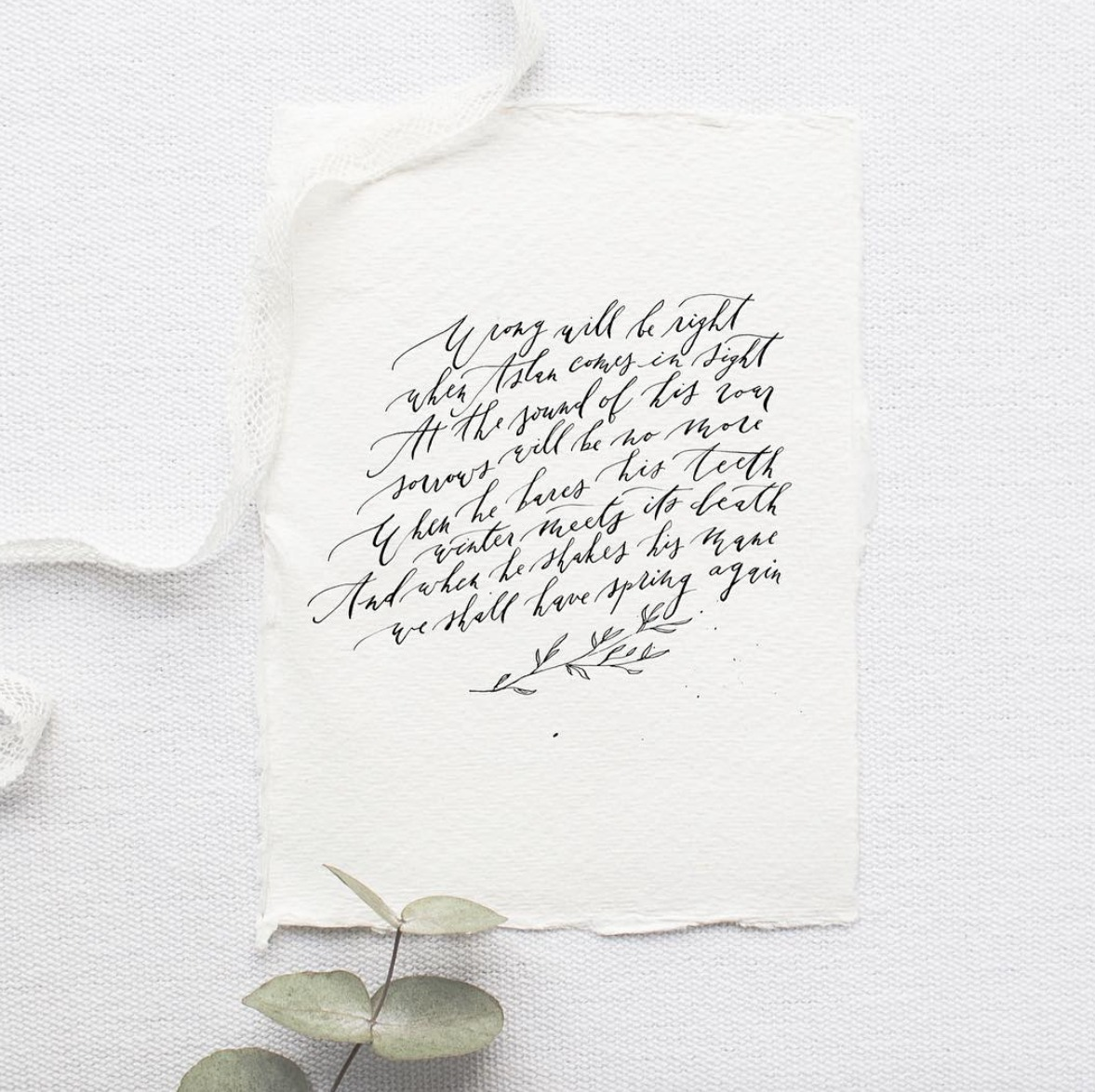Calligraphy Inspiration: Ettie Kim Calligraphy and Design