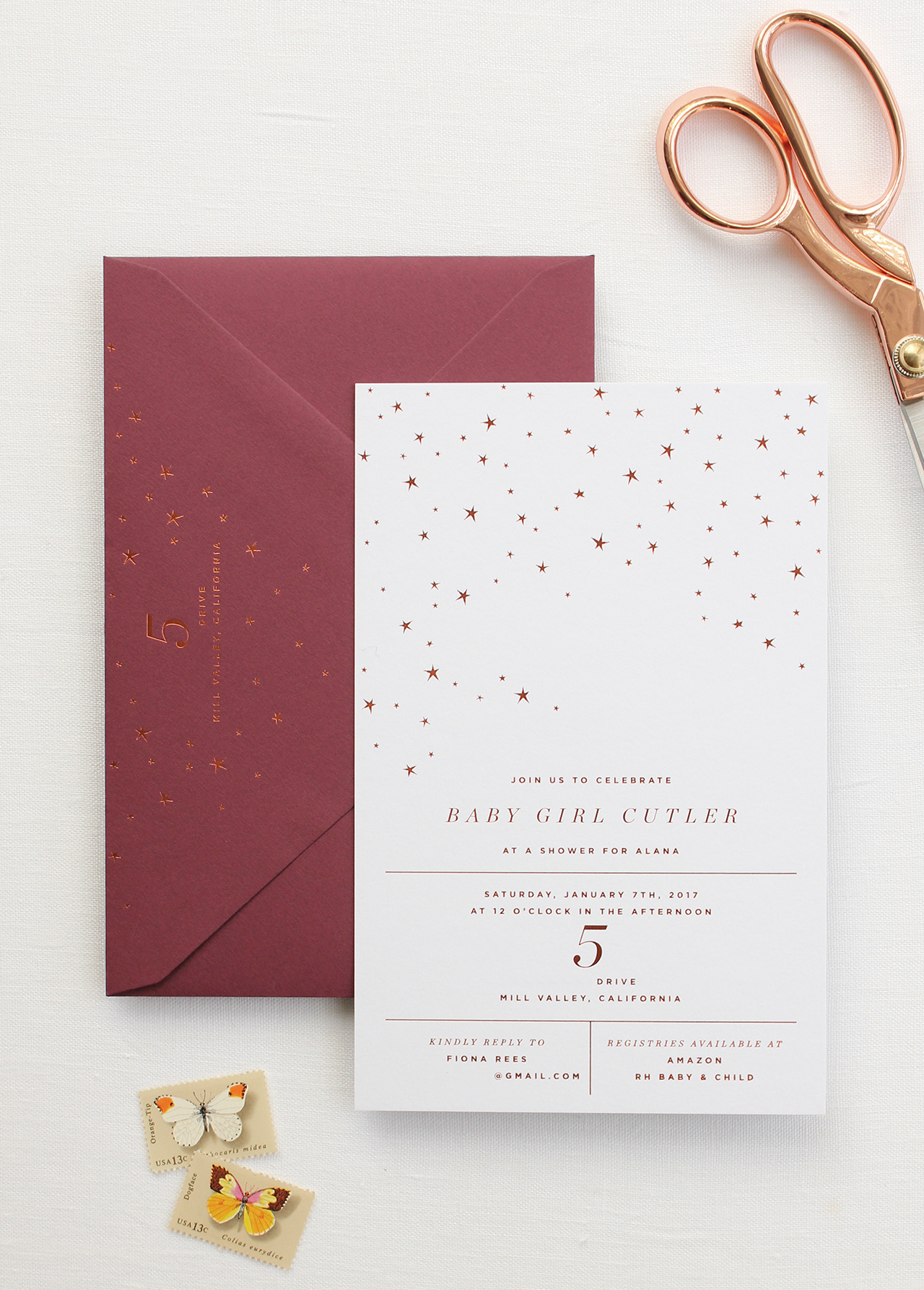 baby stationery archives  oh so beautiful paper, Baby shower invitations