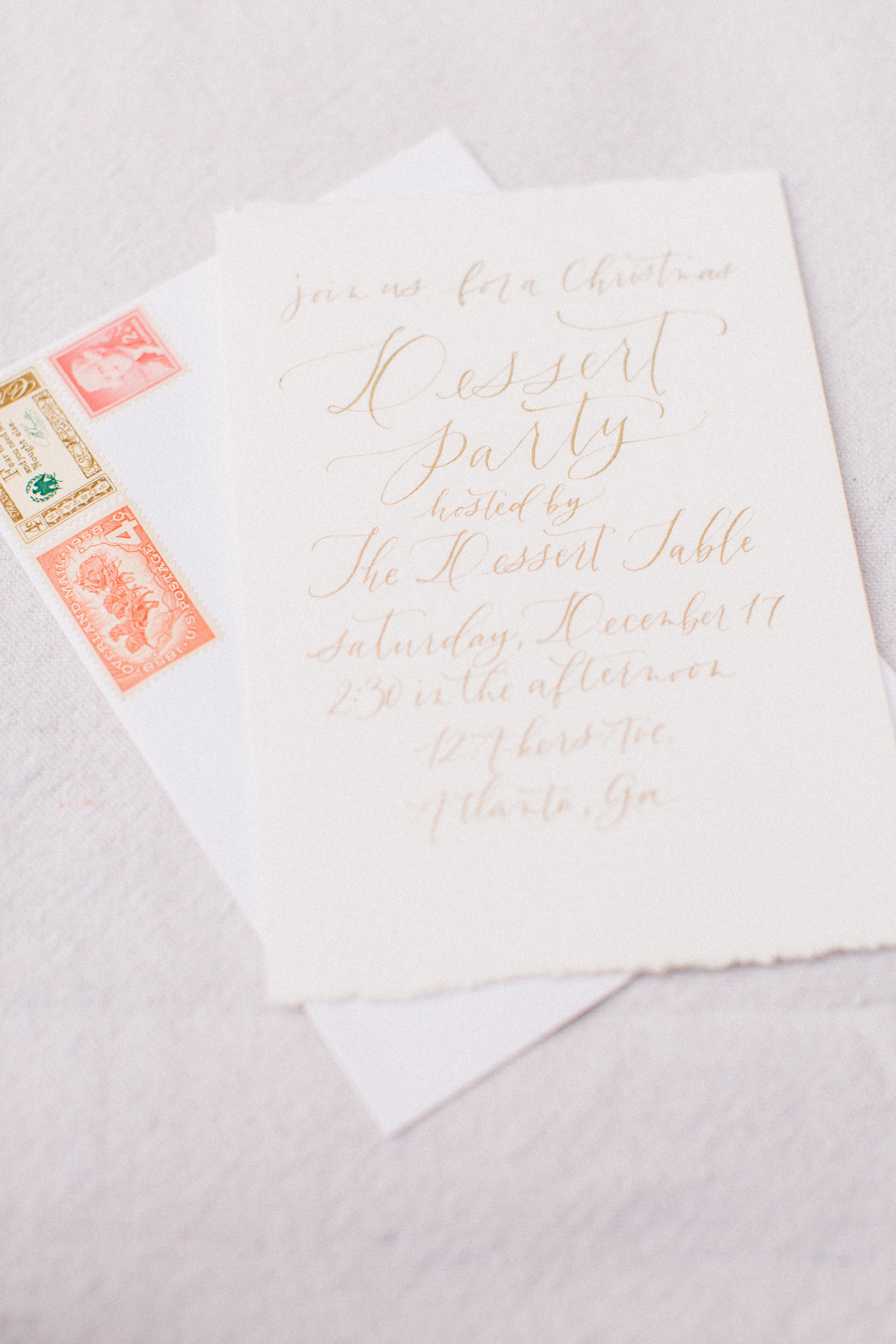 Calligraphy Inspiration: Rachel Anne Design / Oh So Beautiful Paper