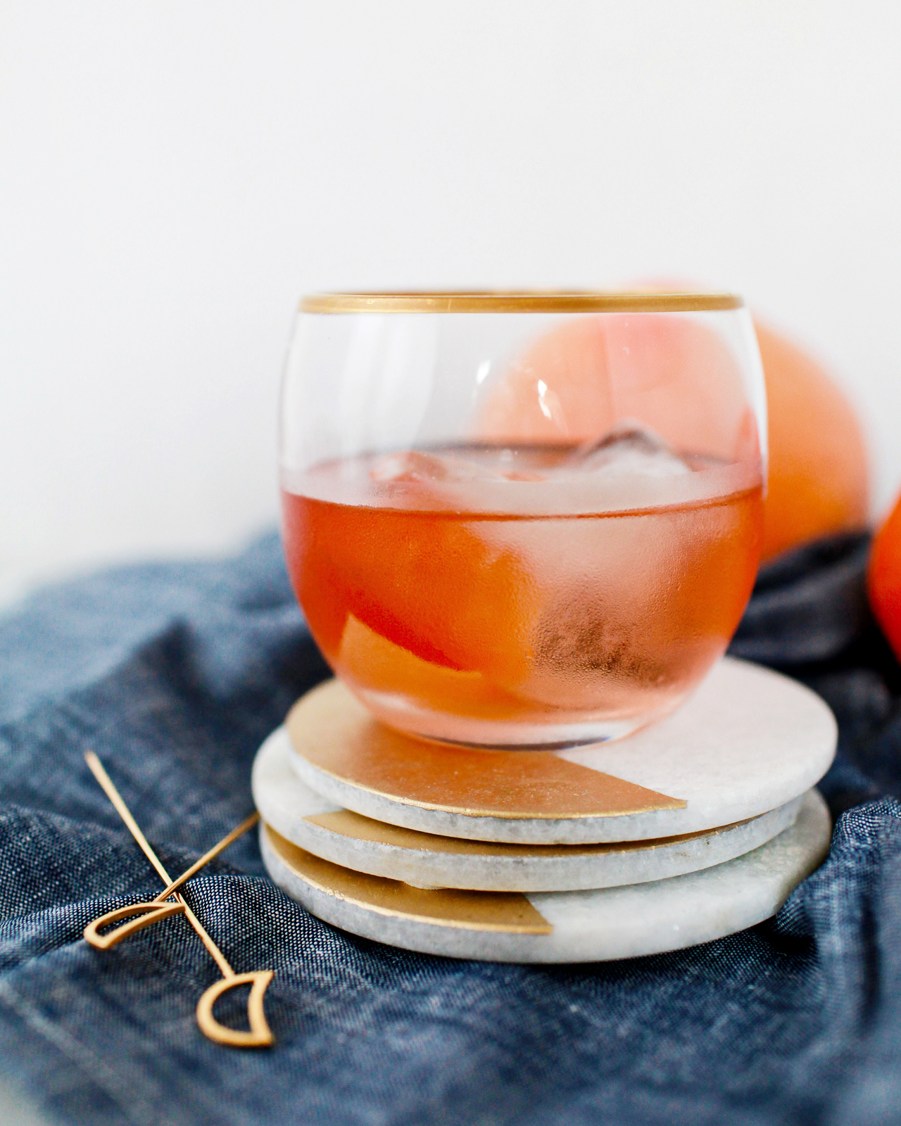 A Tequila and Mezcal Old Fashioned Cocktail Recipe