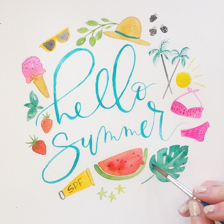 Hello Summer by Bright Room Studio