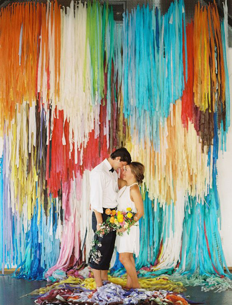 Wedding photo booth backdrop ideas for Party backdrop ideas