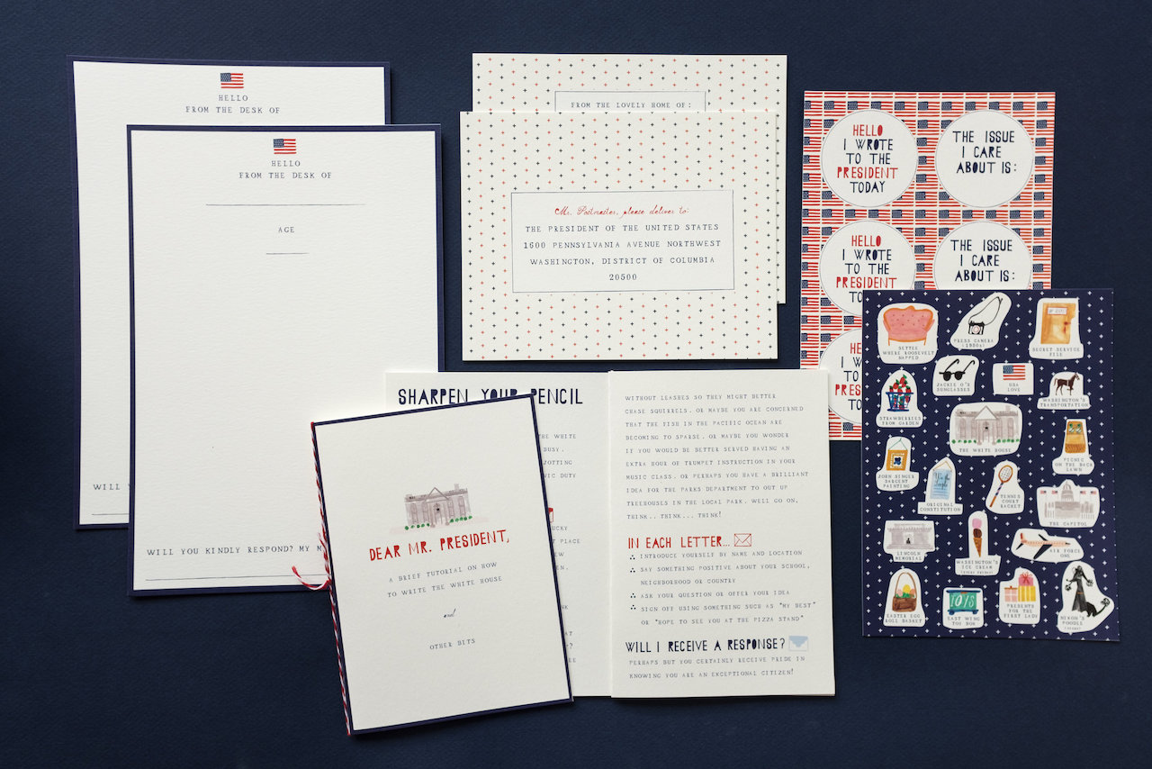 Mr. Boddington's Studio White House Letter Writing Kits