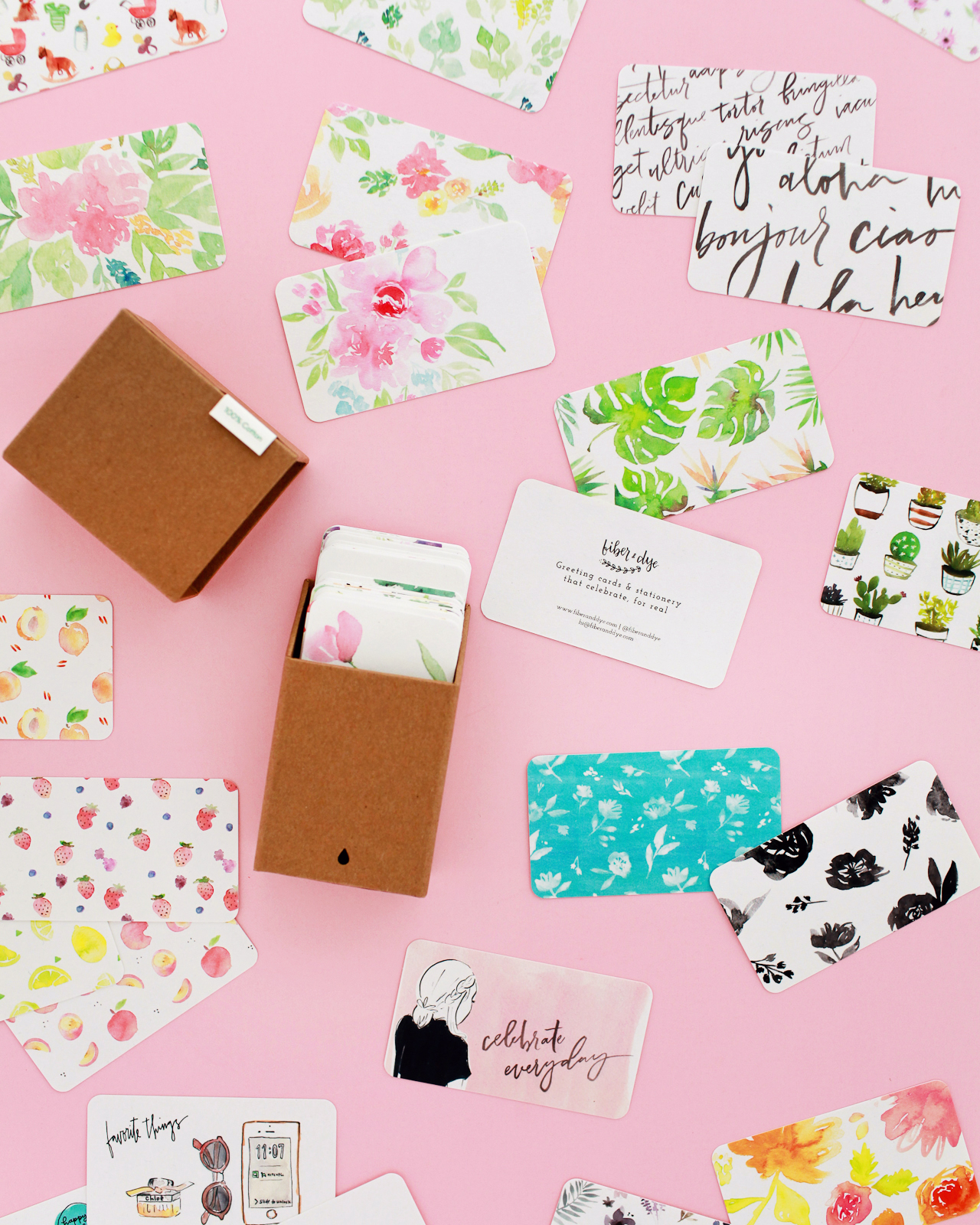 Colorful and Creative Business Cards with MOO Recycled Cotton Business Cards