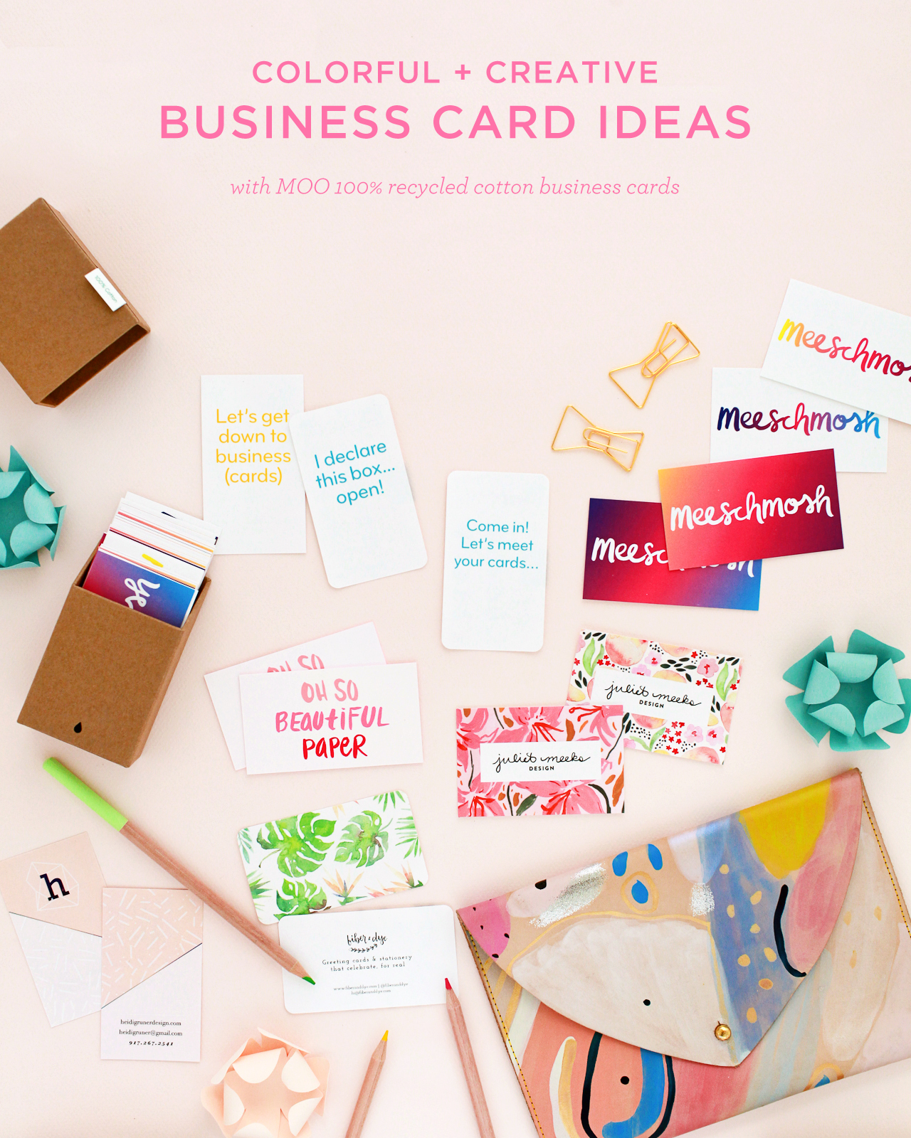 Colorful and creative business cards with moo cotton business cards colorful and creative business cards with moo recycled cotton business cards reheart Choice Image