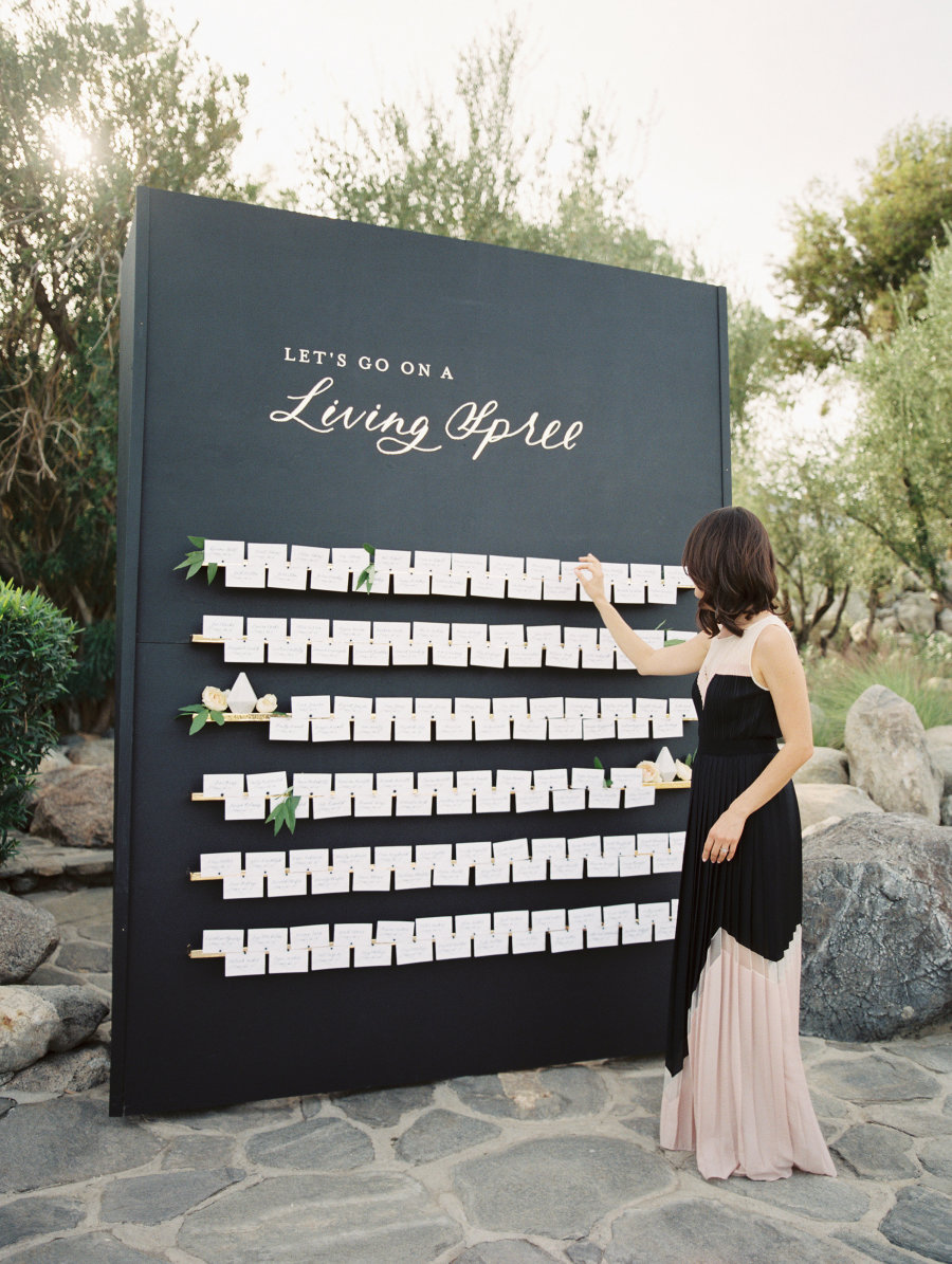 Wedding Stationery Inspiration: Black & White Wedding / Oh So Beautiful Paper