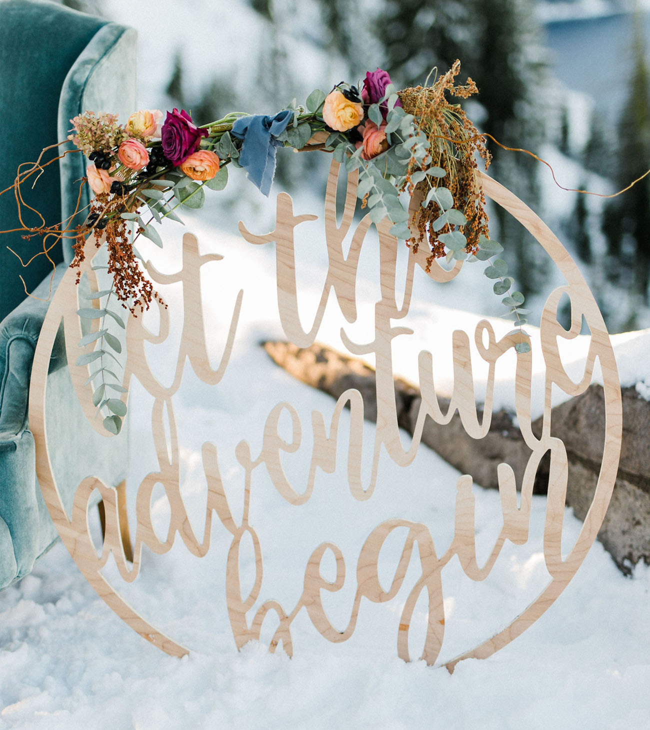 Calligraphy, Hand Lettering, and Typography Wedding Inspiration