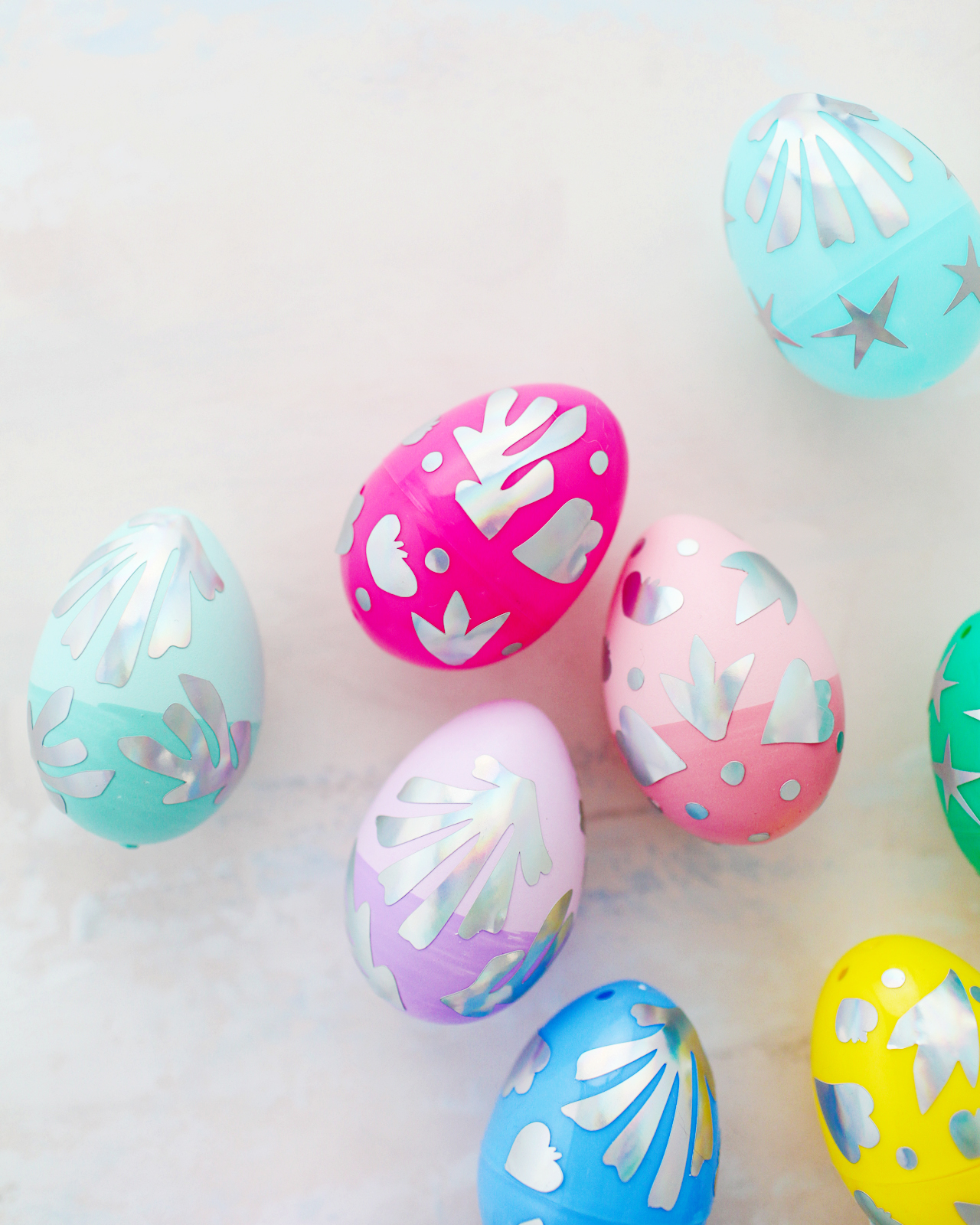 DIY Matisse-Inspired Easter Eggs