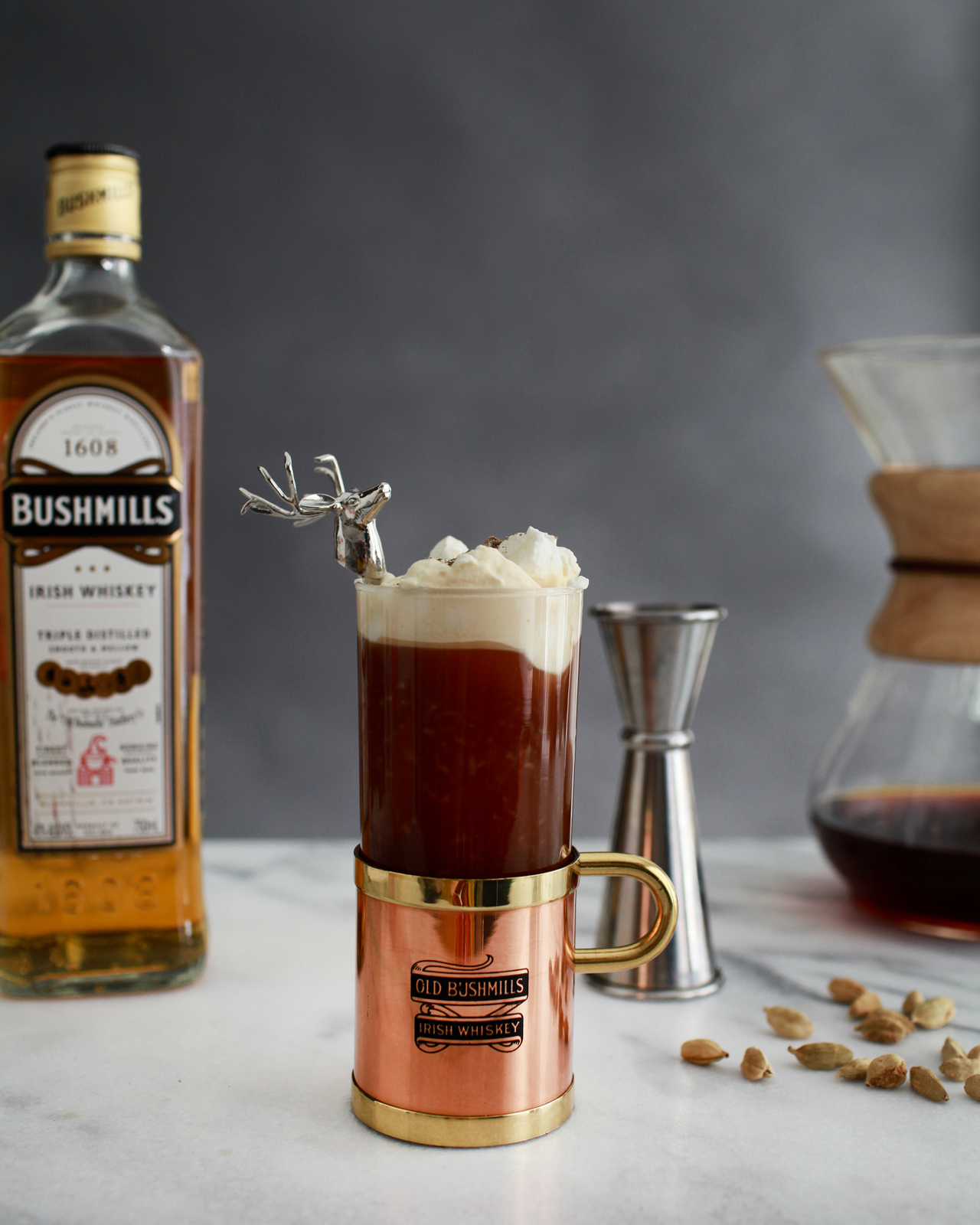 Spiced Irish Coffee Cocktail Recipe by Liquorary