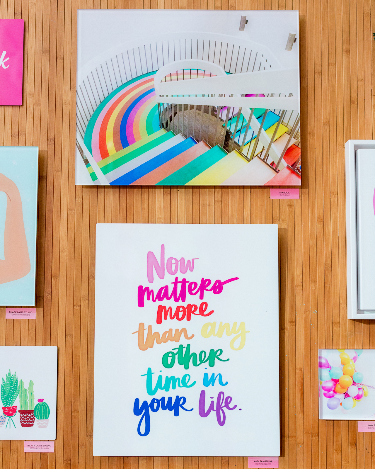 Paper Party 2018 / Colorful Modern Abstract Art Party Inspiration