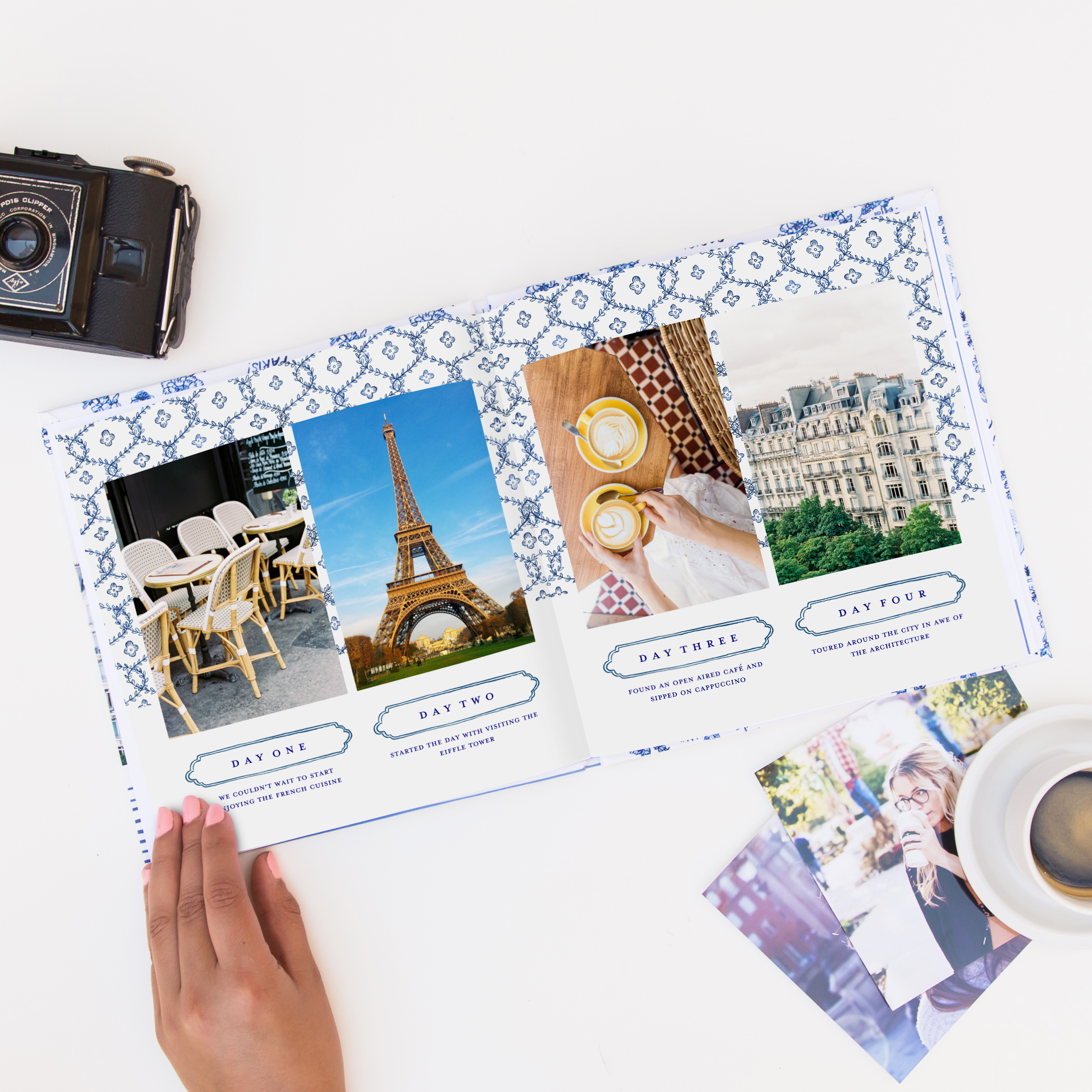 Mixbook Designer Collections / Molly Hatch Travel Book