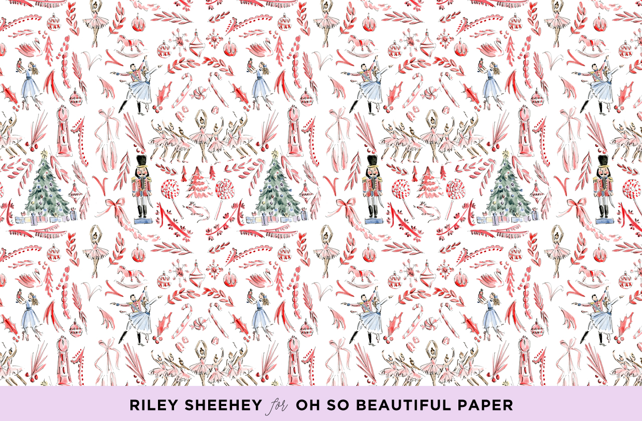 Riley Sheehey Nutcracker Illustrated December Wallpaper