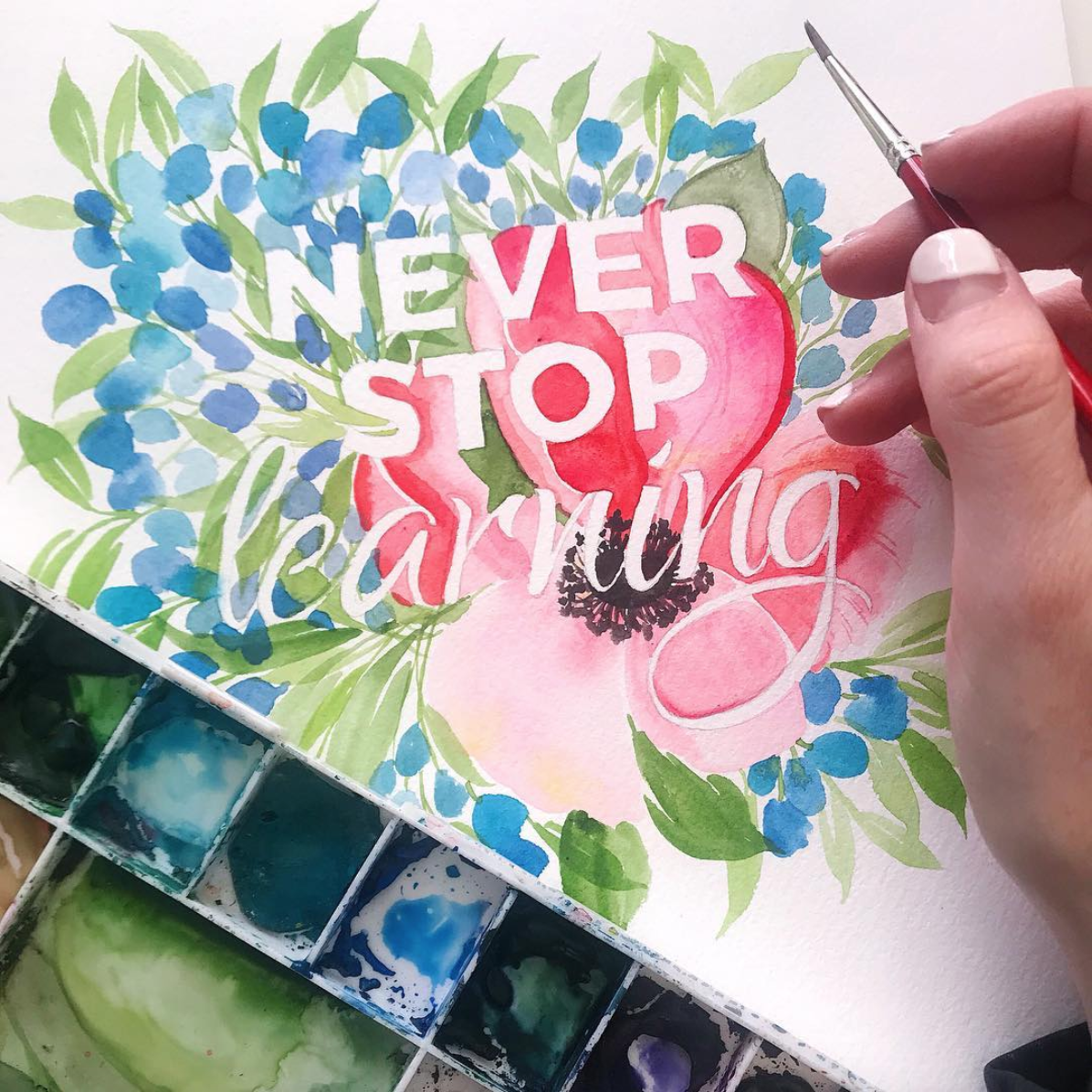 Never Stop Learning / Jenna Rainey