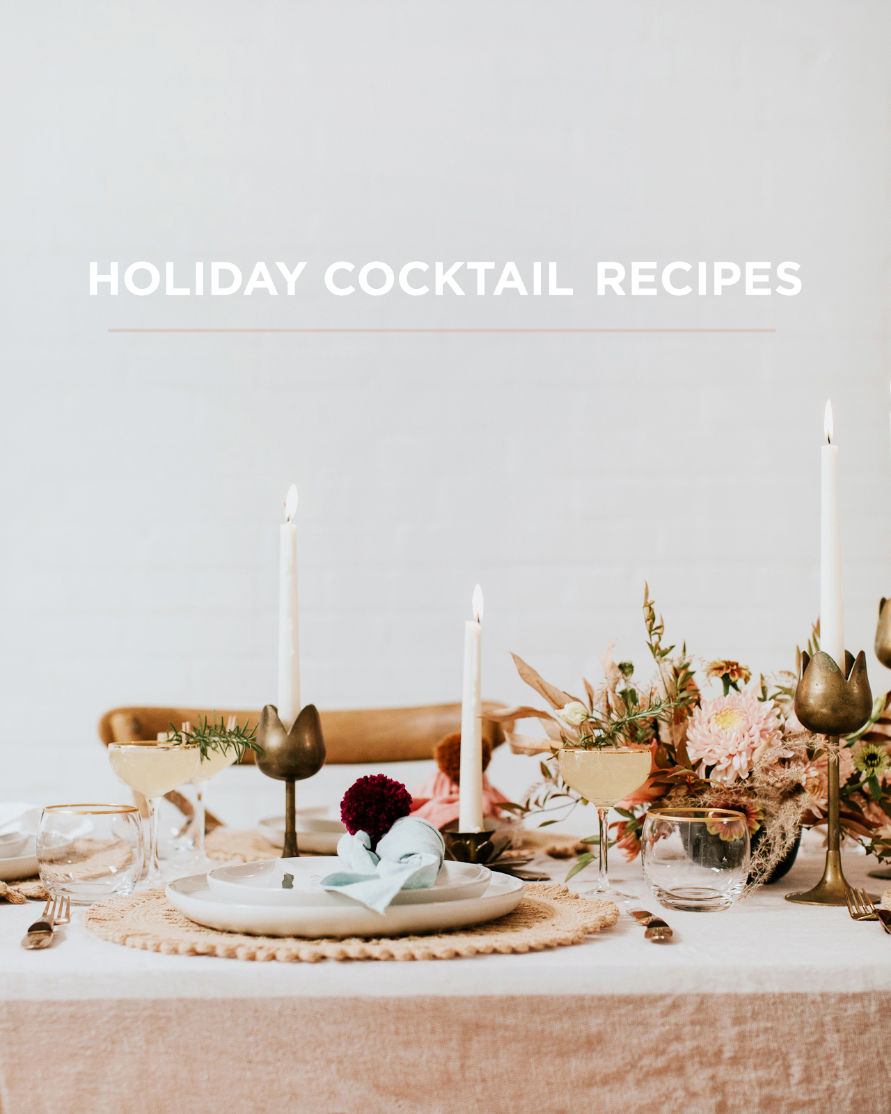 Holiday Cocktail Recipe Ideas