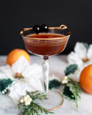 Yuletide Punch Holiday Cocktail Recipe