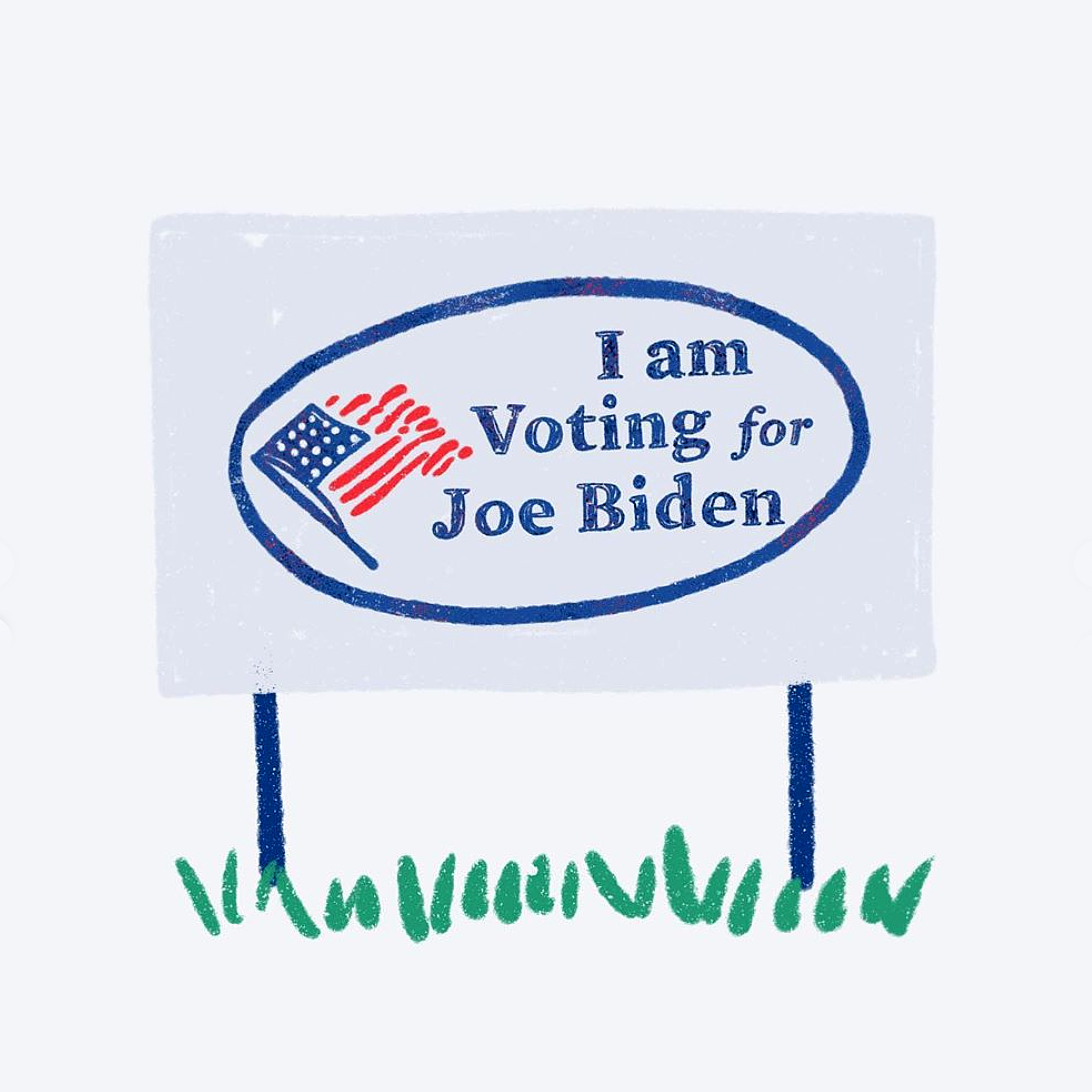 Joe Biden Digital Yard Sign