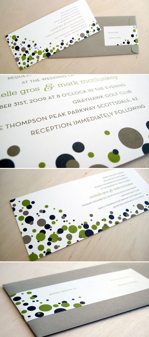 Polka-dot-new-years-eve-wedding-invitation