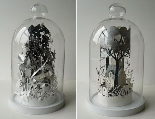 Woodland-cottage-papercut-terrarium