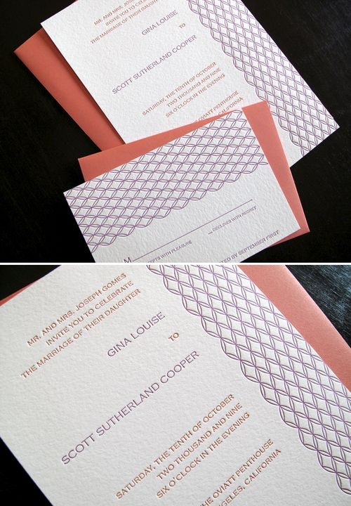 Anemone-Letterpress-Red-Purple-Marquis-Pattern-Wedding-Invitation