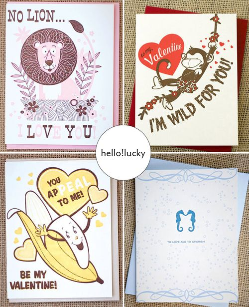 Hello!Lucky-fun-valentines-day-cards
