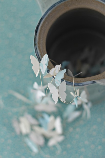 Butterfly-garland-white
